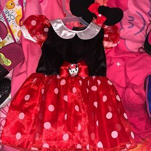 Disney Minnie Mouse costume 9-12m NWOT